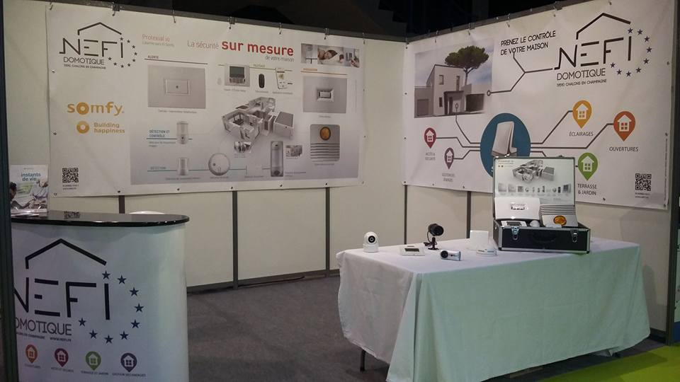 Nefi Domotique stand MP