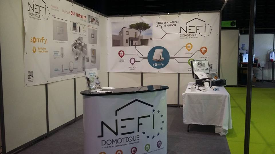 Nefi Domotique stand MP2
