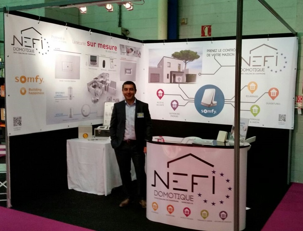 Nefi Domotique stand