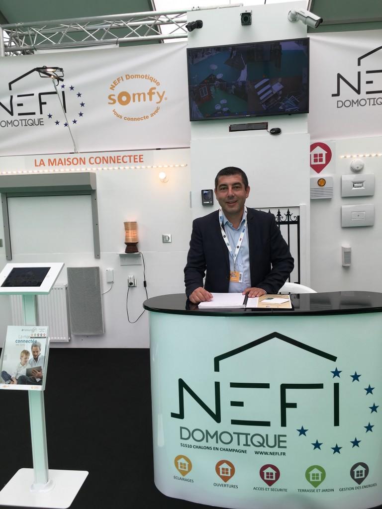 NEFI Domotique Foire de Chalons 2018 3